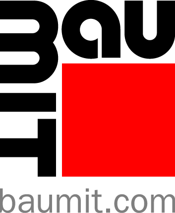 Logo partnera akce PechaKucha Brandýs nad Labem - společnost Baumit